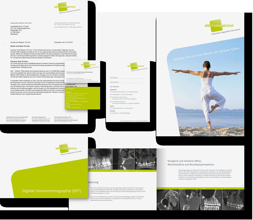 Design-grafische-anwendungen-geschaeftsdrucksorten-roentgeninstitut-duesseldorf