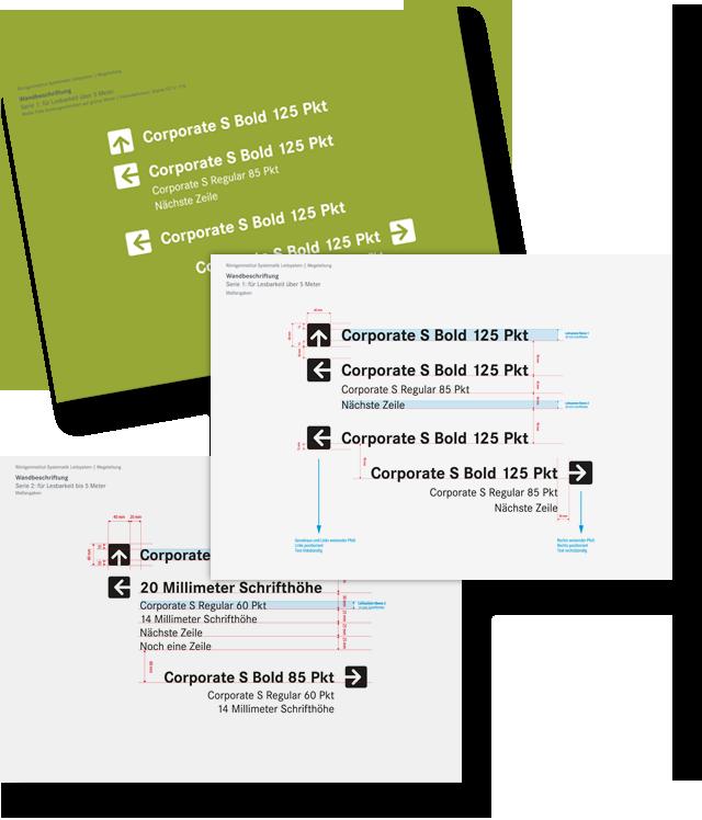 Charts-gestaltung-design-leitsytem-wegeleitung