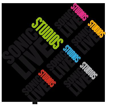 Corporate Design Sonic Live Studios Logo Farbwelt