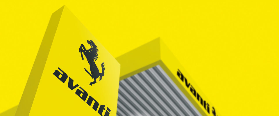 Avanti Logo Design Tankstelle
