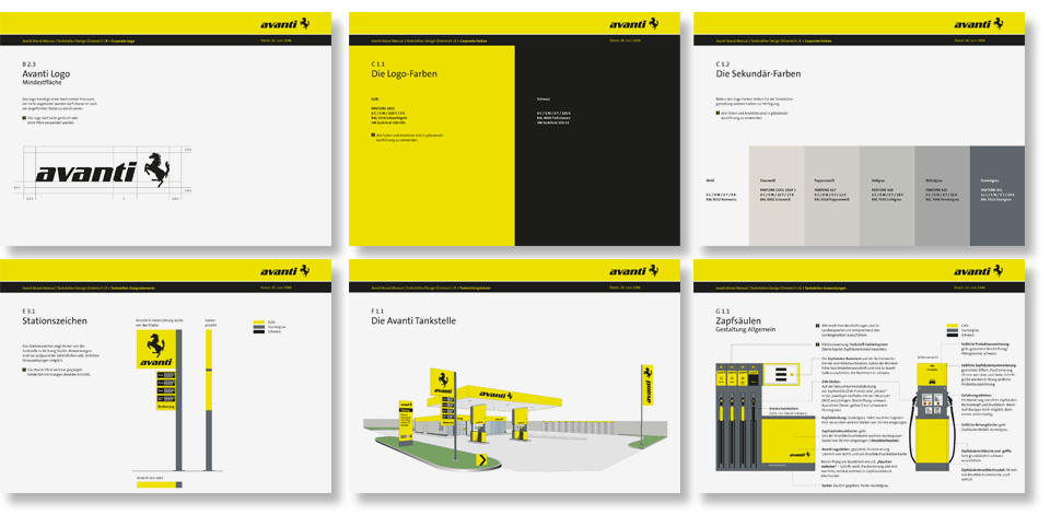 corporate design manual-tankstellen-design