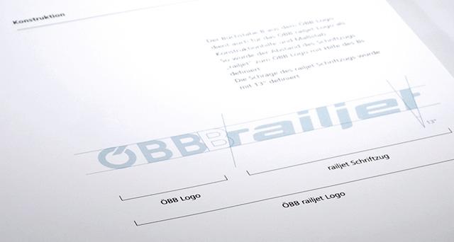 OEBB railjet, Logodesign, Markendesign