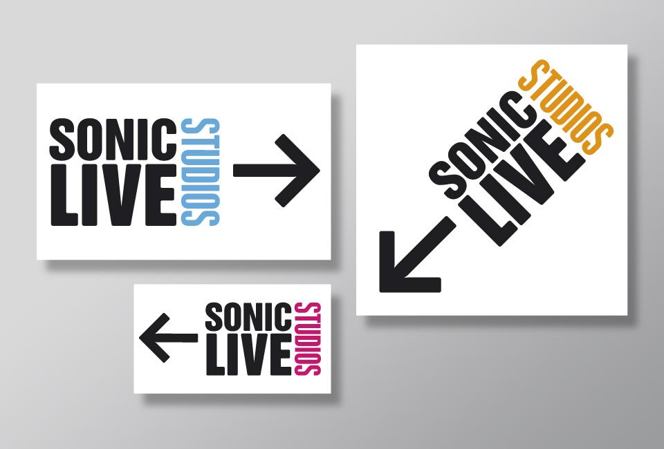 Sonic-live-studios-Wegweiser-schilder