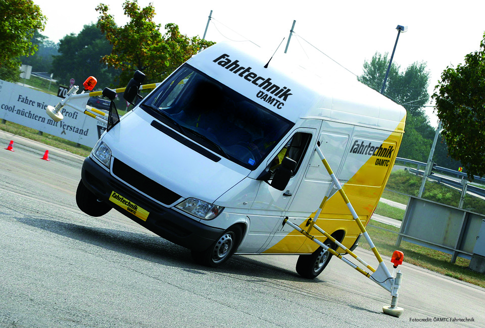 ÖAMTC Fahrtechnik Fahrzeuggestaltung